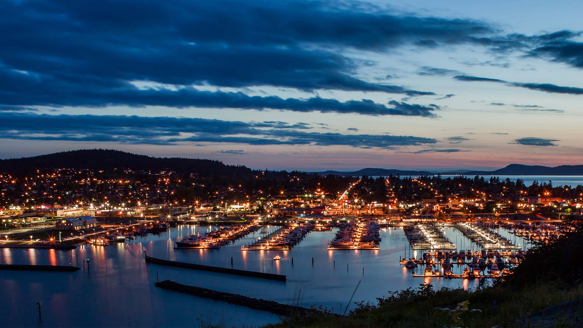 Panorama to illustrate dating in anacortes
