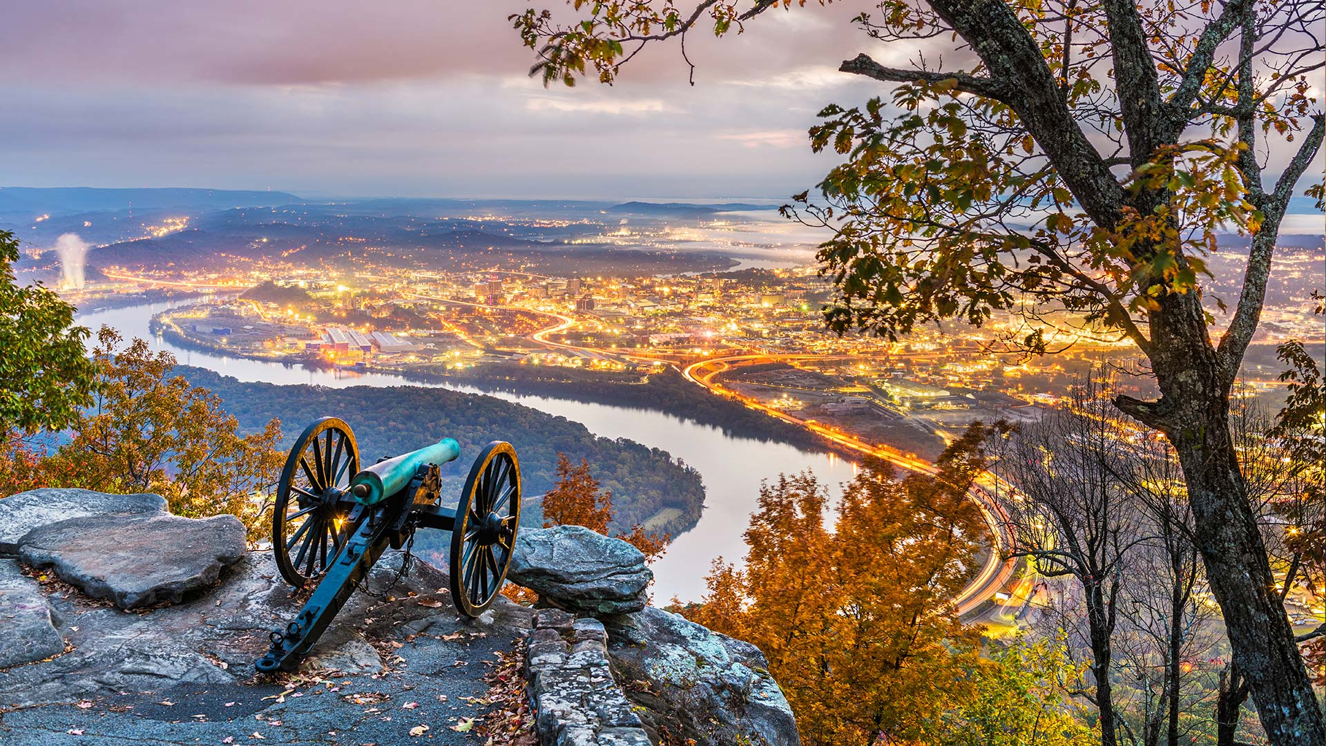 Panorama to illustrate dating in chattanooga