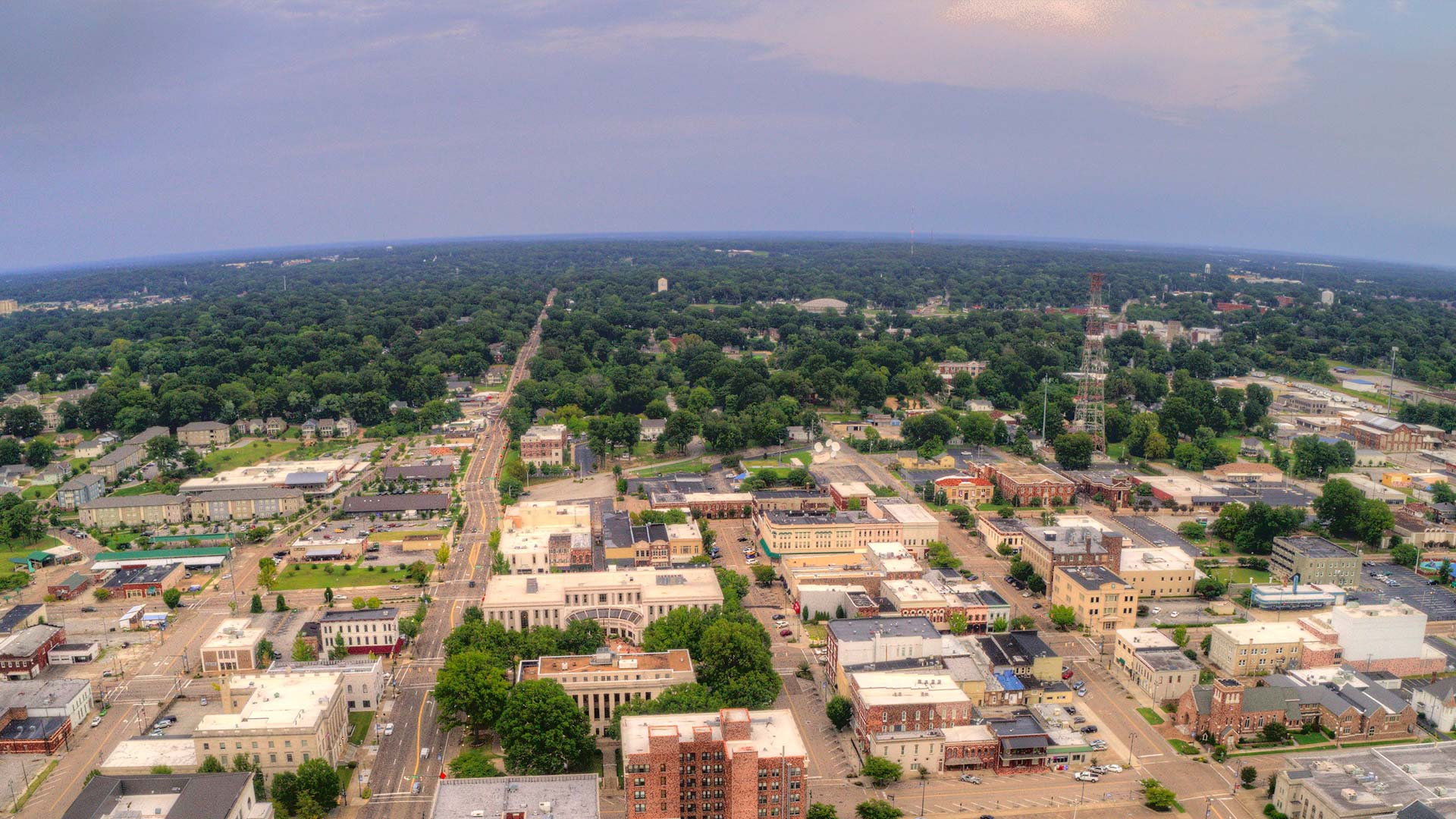 Panorama to illustrate dating in jackson