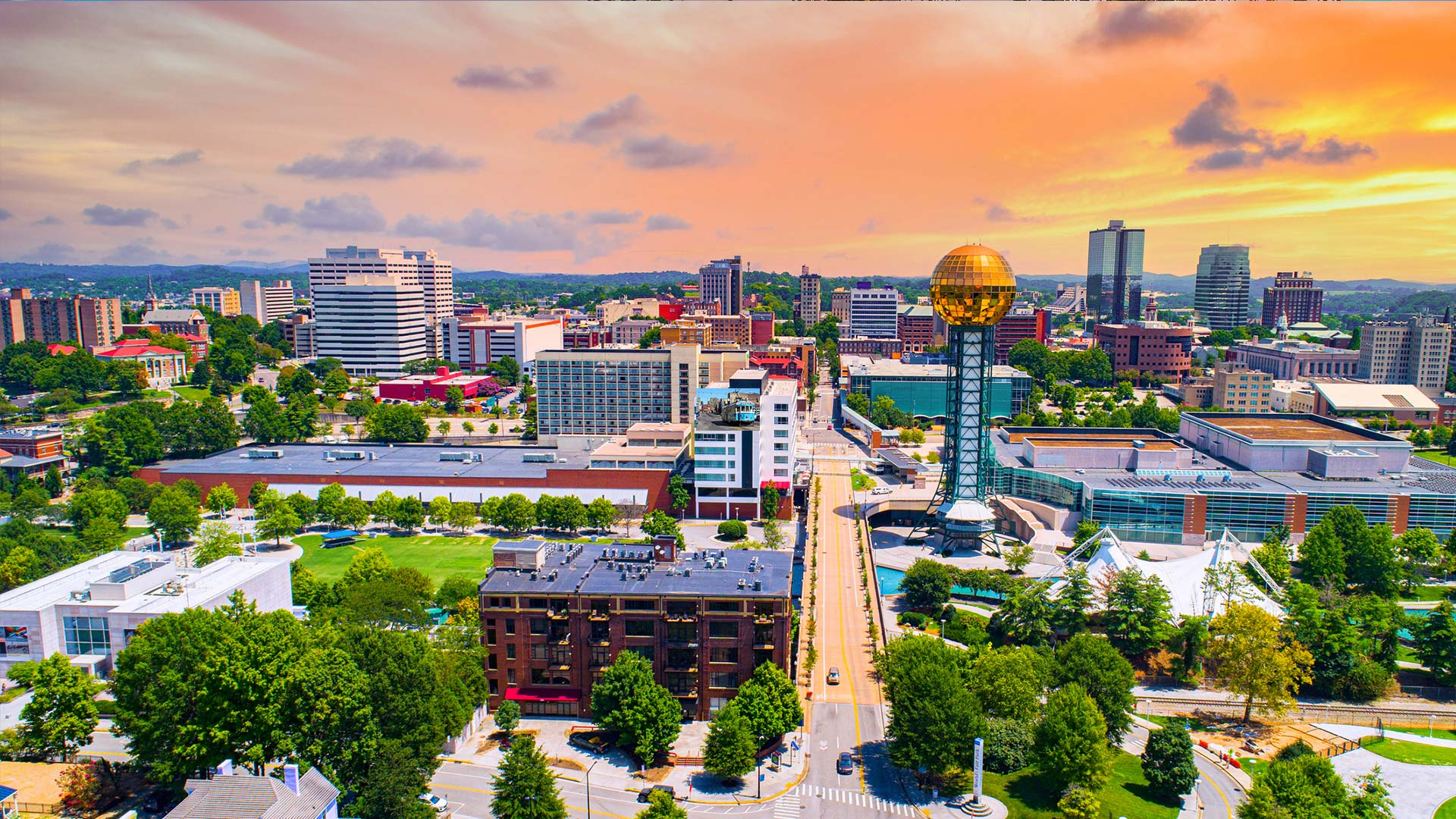 Panorama to illustrate dating in knoxville