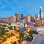 Panorama to illustrate dating in oklahoma city