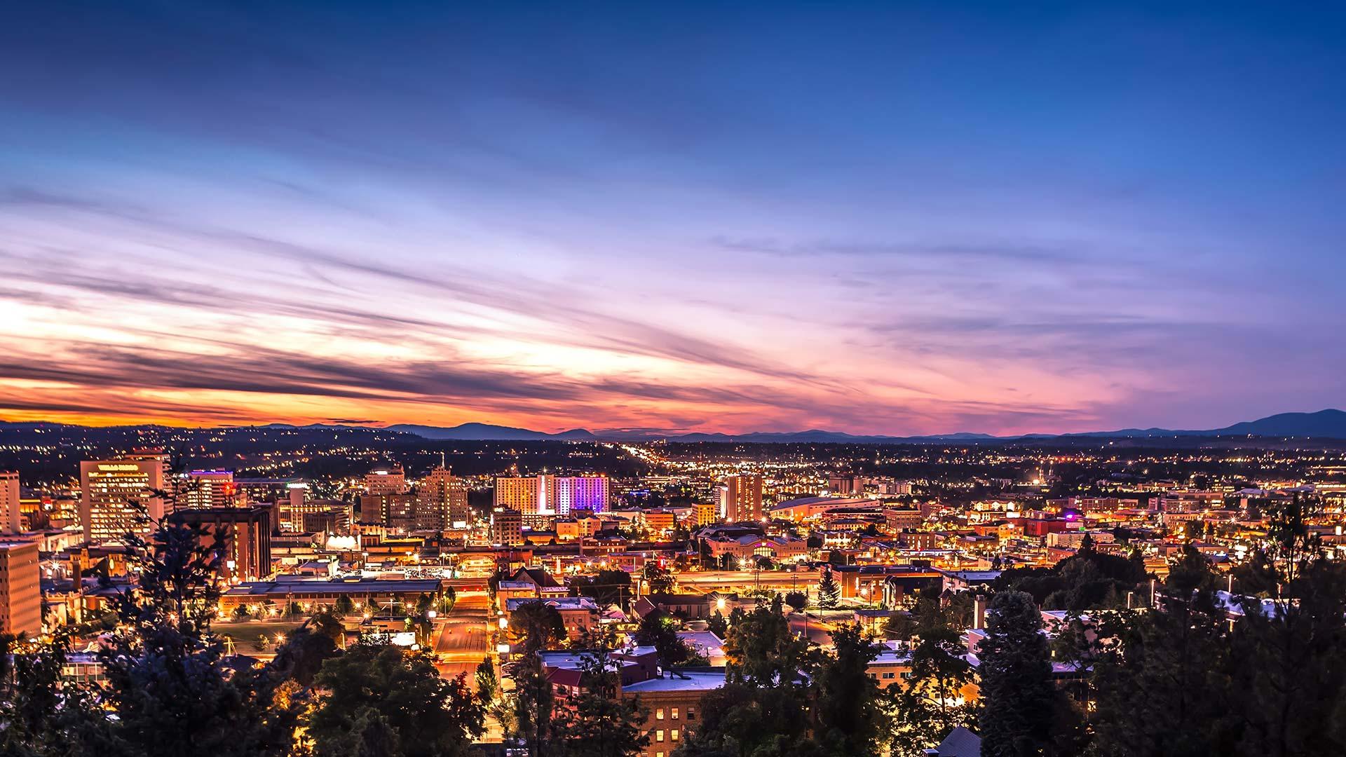 Panorama to illustrate dating in spokane