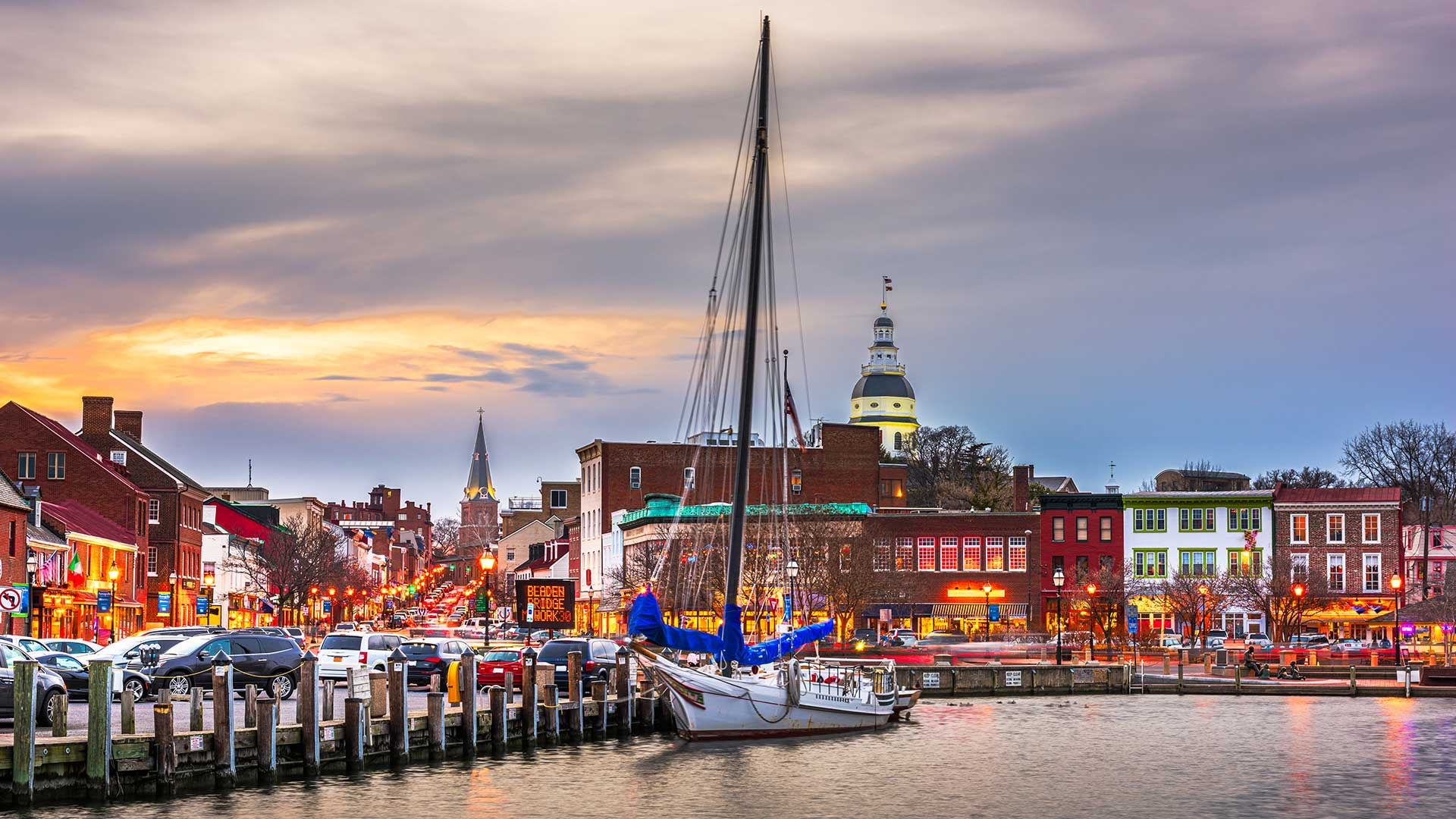 Panorama to illustrate dating in annapolis