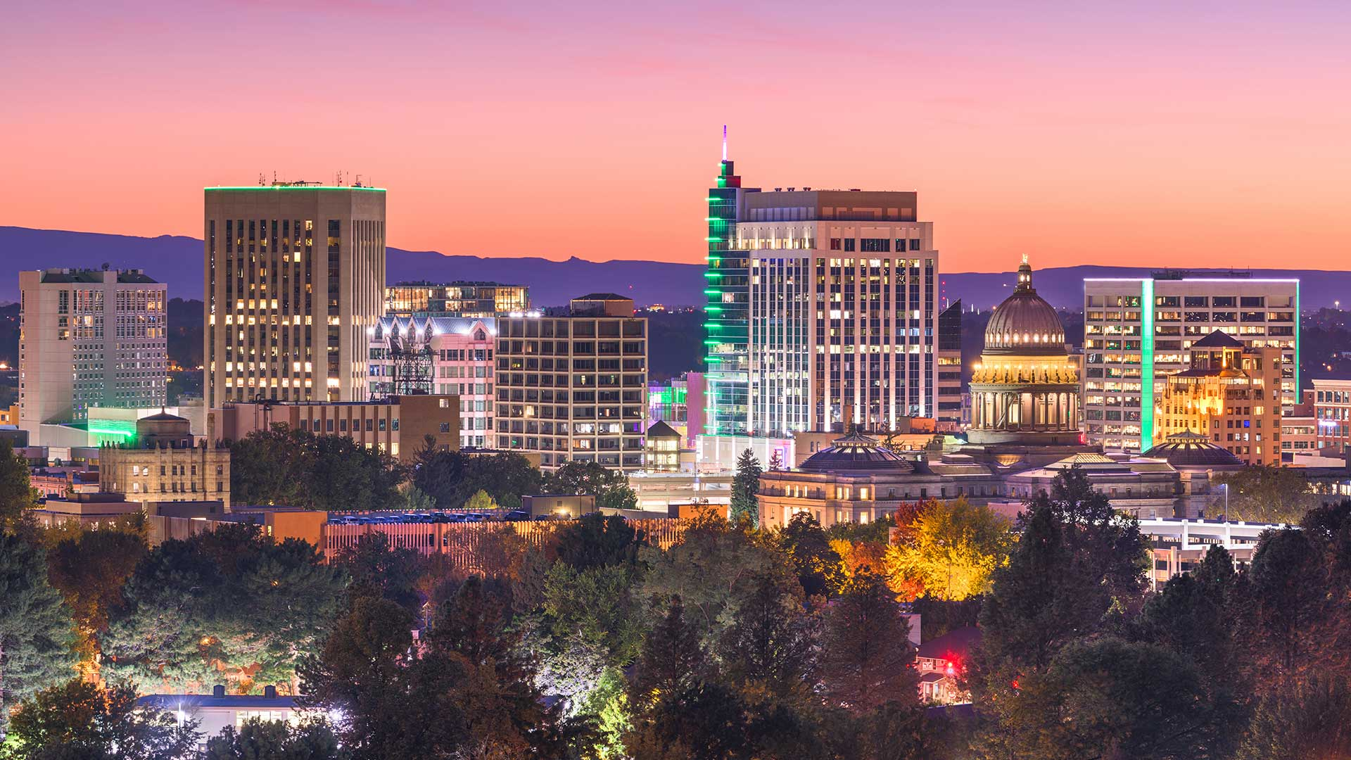 Panorama to illustrate dating in boise