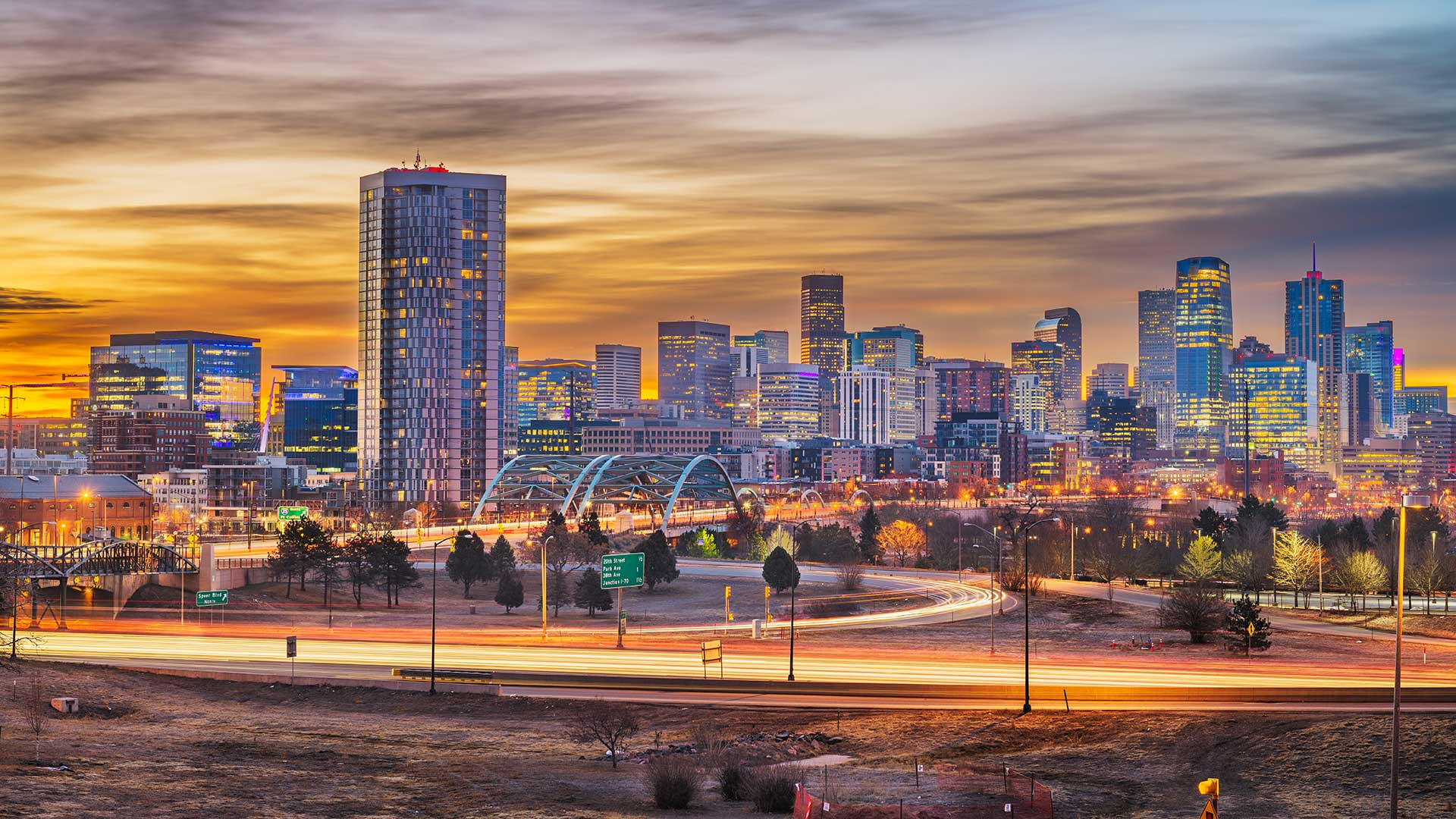 Panorama to illustrate dating in denver
