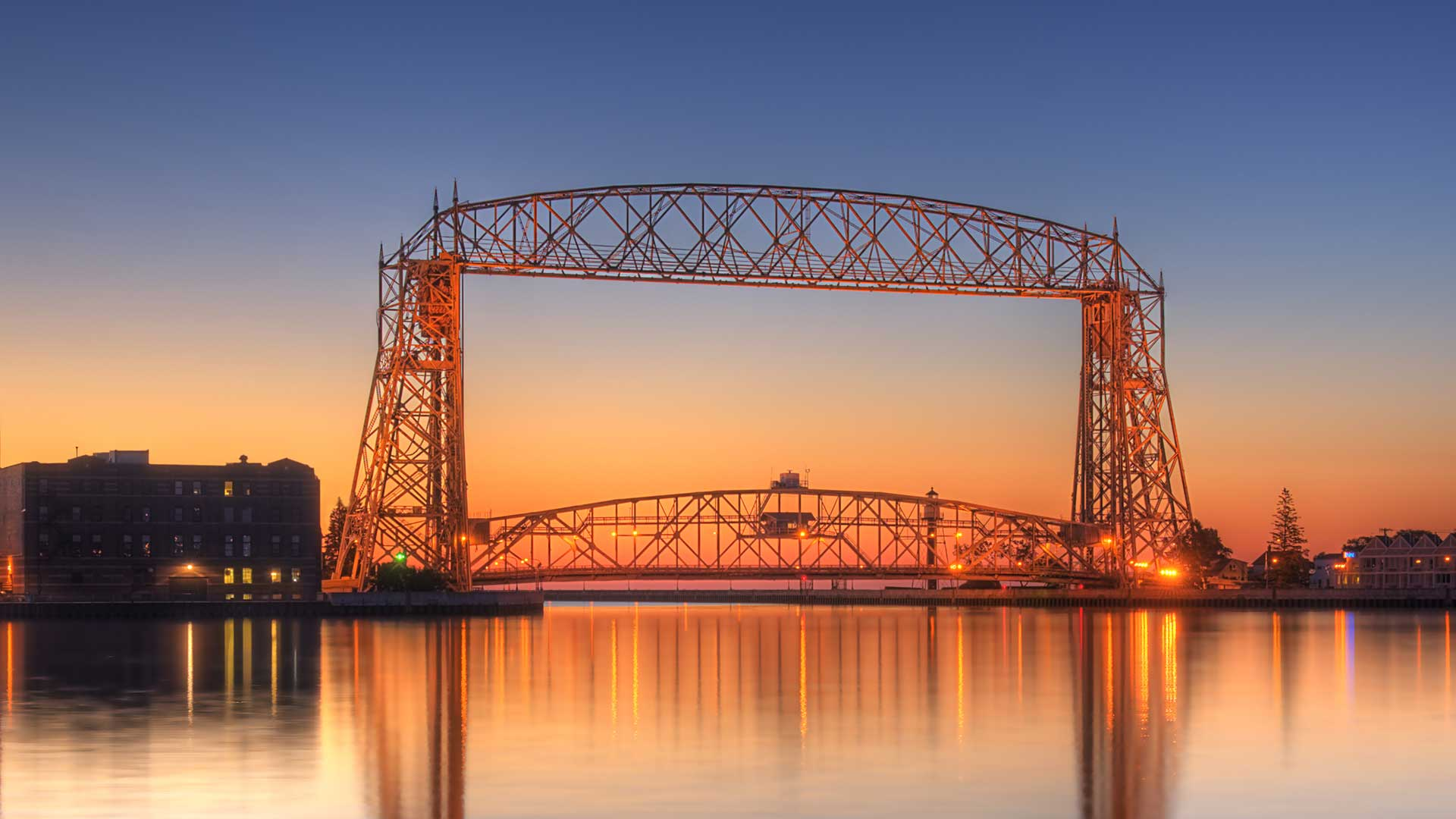 Panorama to illustrate dating in duluth