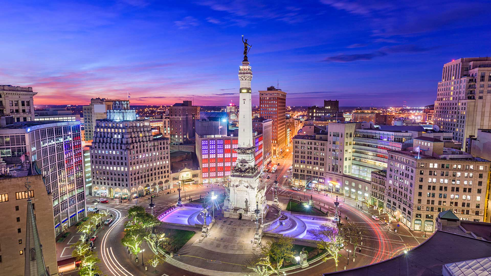 Panorama to illustrate dating in indianapolis