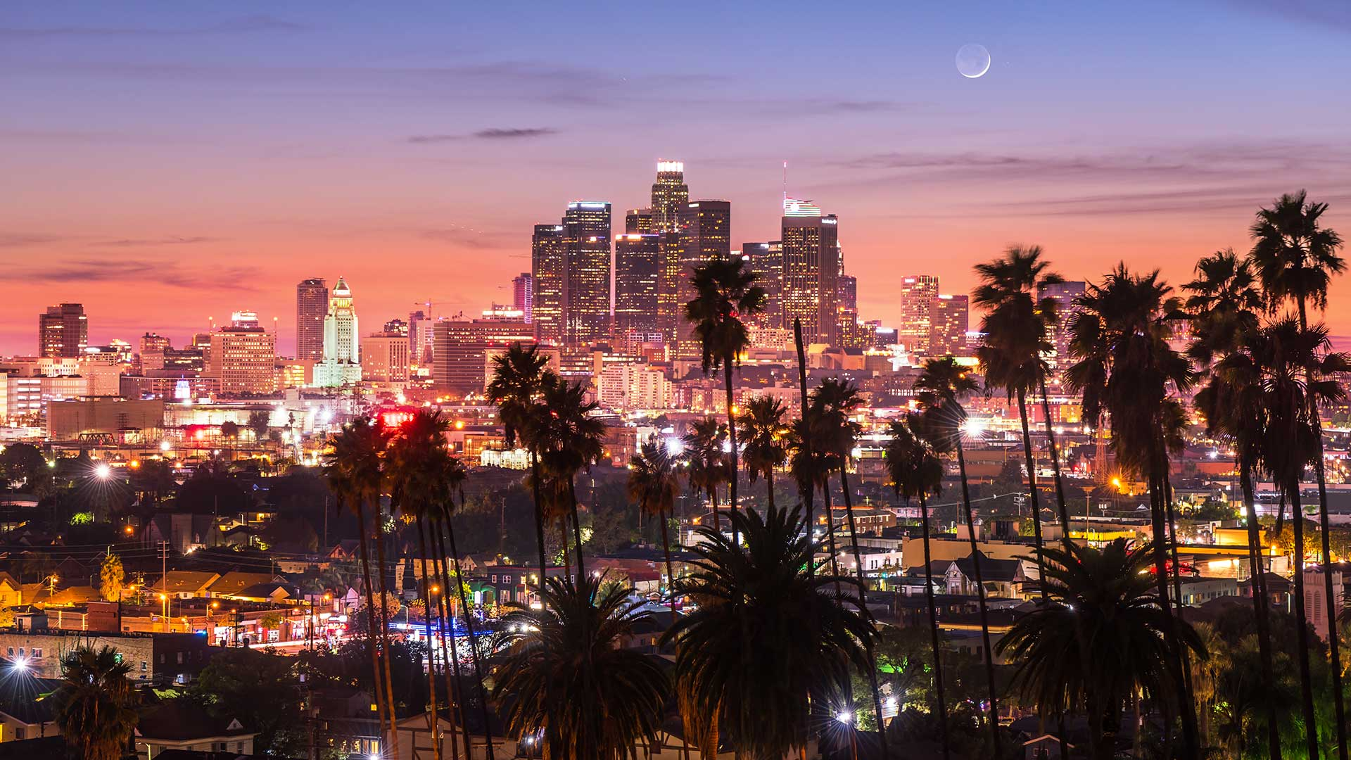 Panorama to illustrate dating in los angeles