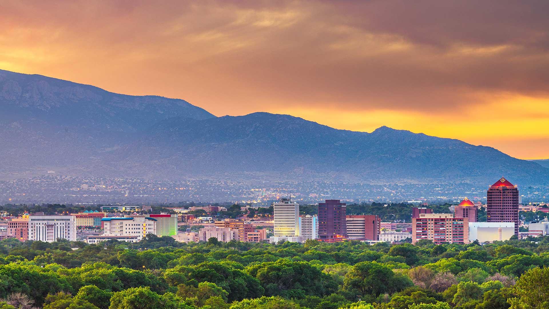 Panorama to illustrate dating in albuquerque