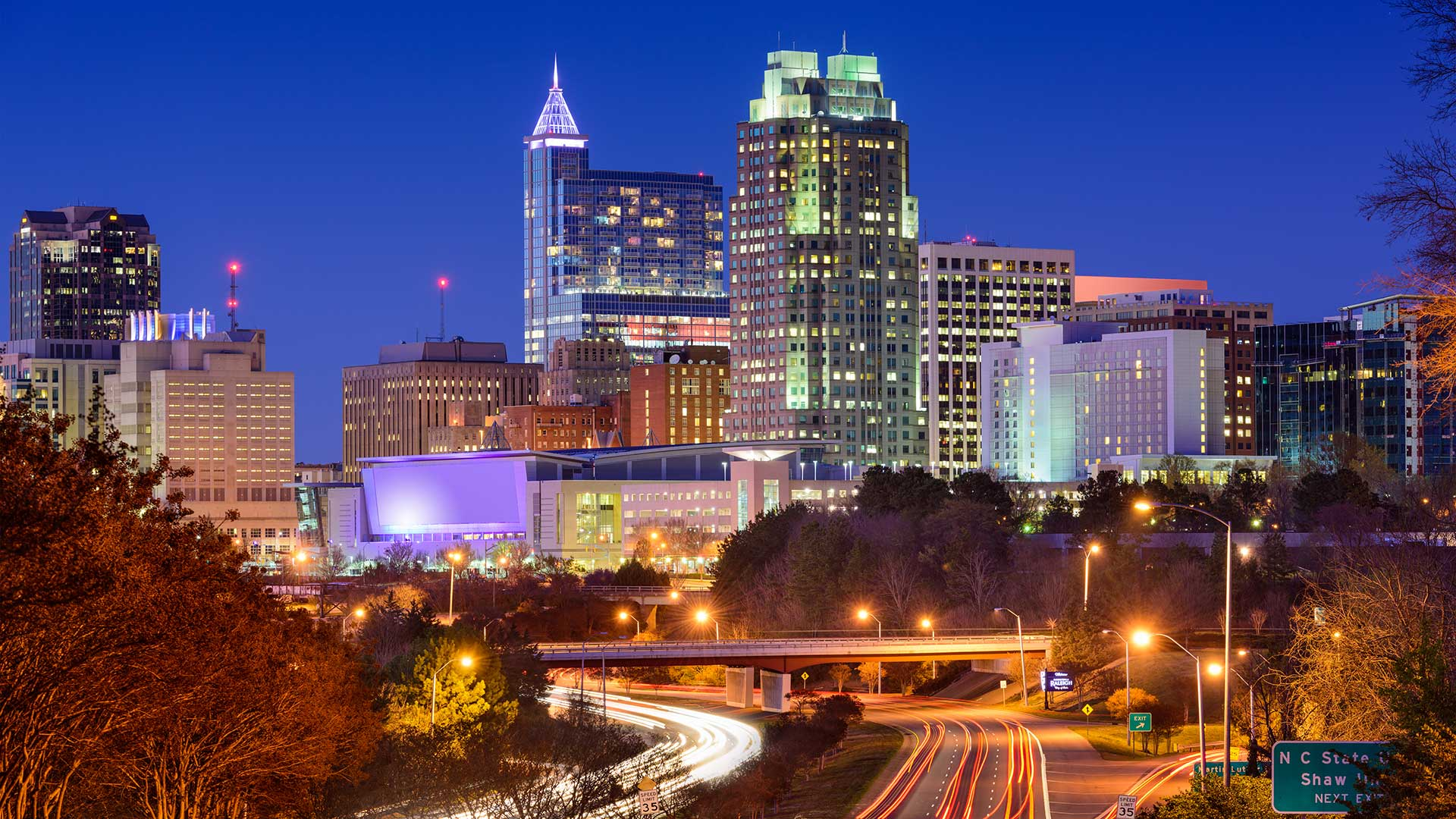 Panorama to illustrate dating in raleigh