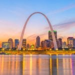 Panorama to illustrate dating in saint louis